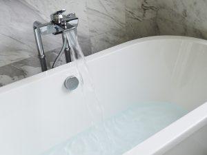 ein schönes Bild, einer Badewanne